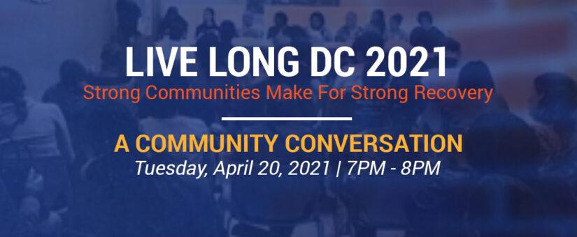 A Community Conversation – April 20